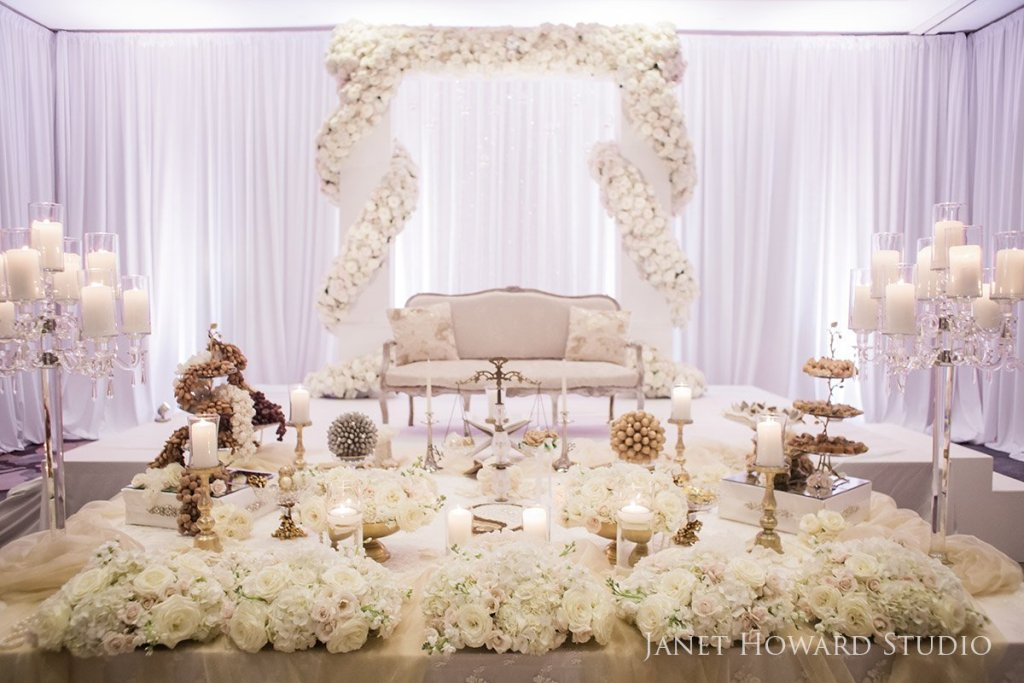 Sofreh table for Persian wedding