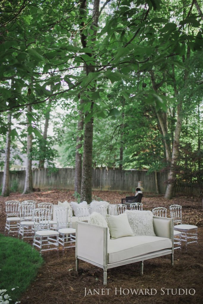 comfortable ceremony seating