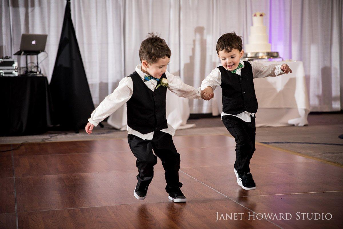 Ring Bearers Dancing