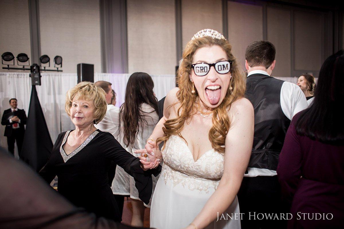 Wedding Reception Silliness