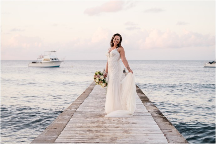 Stylish Grand Cayman Wedding by Janet Jarchow