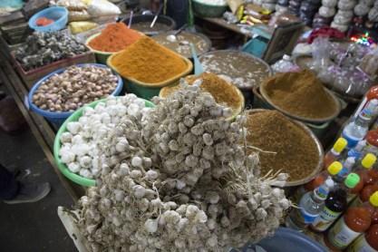 Spices Phosy Market Luang Prabang