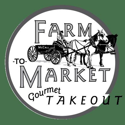 Farm to Market Gourmet Takeout logo ©JMurphyDesigns