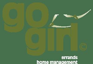 Go Girl Property Management logo design.