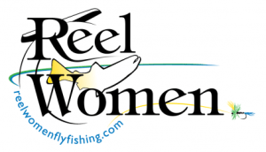 Reel Women fly fishing logo by J. Murphy Designs