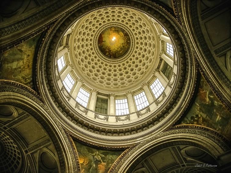 architecture, dome, pantheon, Paris