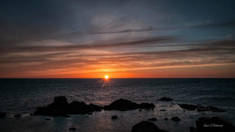 Sunset, Newfoundland, skies, seascape