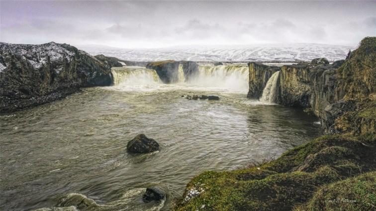 landscape, waterfalls, Iceland, Gullfoss