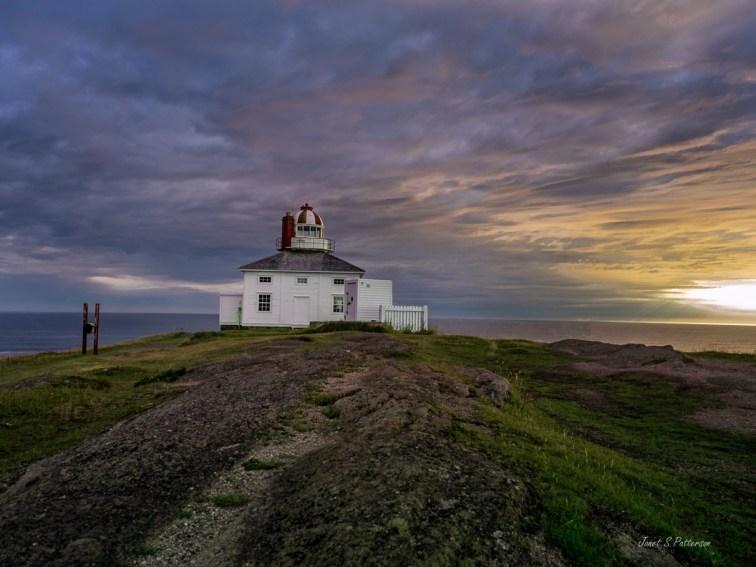 Seascape, sunrise, lighthouse, cape spear, NL