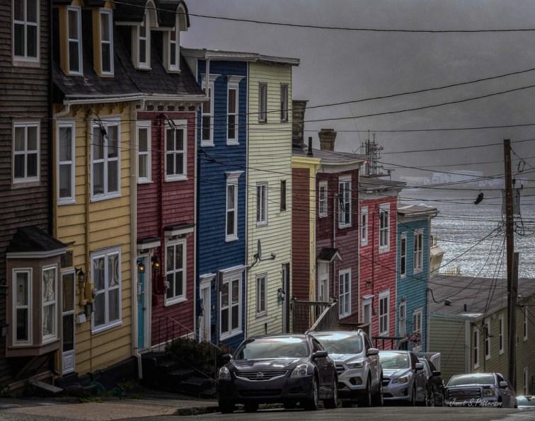cityscape, streetscape, St. John's, NL.