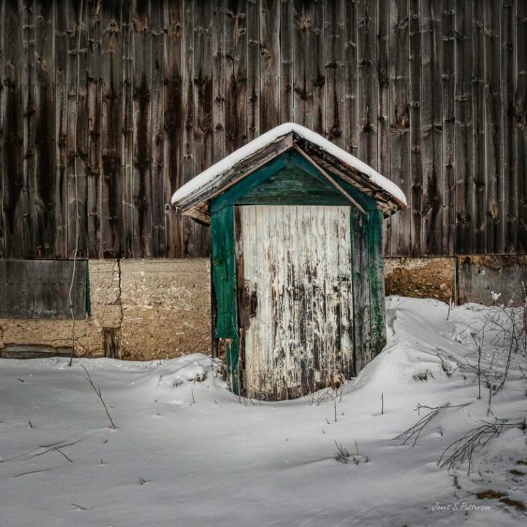 door, barn, winter, Ontario