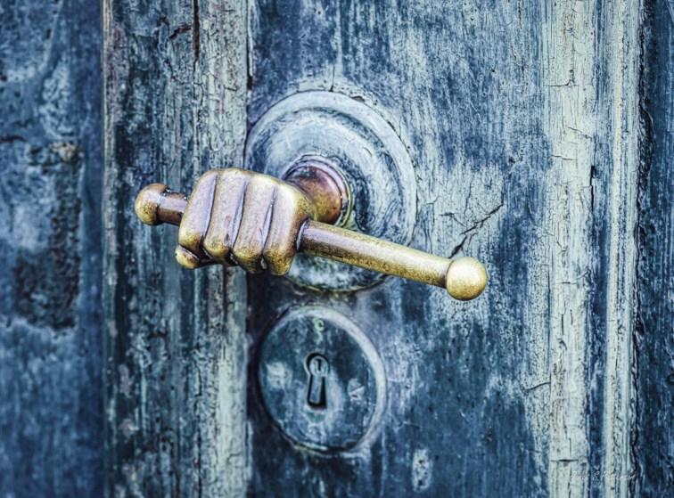 door, handle, Bergen, Norway, St. Jorgen's Leprosy Museum, church