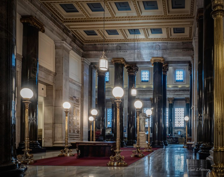architecture, bank of Montreal, lobby. interior, Montreal