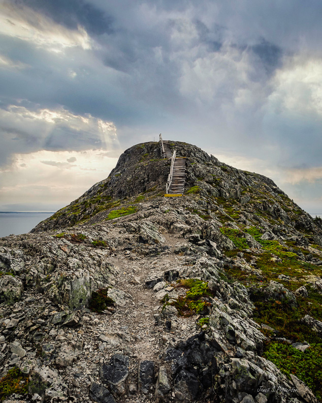 places, NL, islands, seascapes, landscapes, Fogo Island Brimstone Head