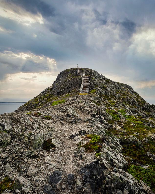 places, NL, islands, seascapes, landscapes, Fogo Island Brimstone Head