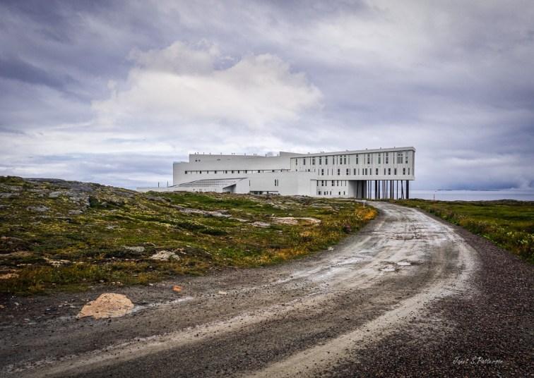architecture, landscape, seascape, building, inn, Fogo Island, Joe Batt's Arm, NL