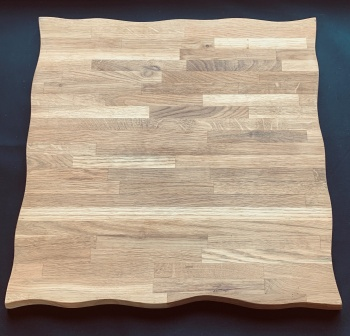 """Very Large Square Wooden Cheeseboard 19"""""""