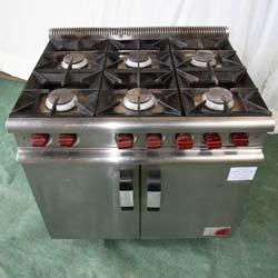 6 Burner Gas Oven 1110w x 700d x 870h