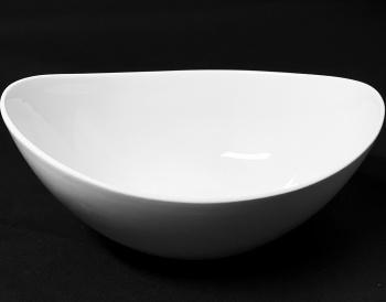 "Large Moonstone Bowl 10"""