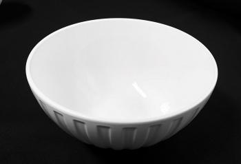 """Small Ribbed Bowl 7.5"""""""
