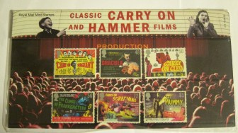 Classic Carry on and Hammer films