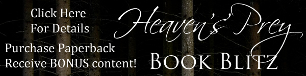 Heaven's Prey book blitz click here