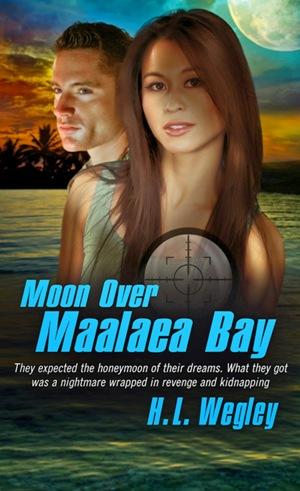 Moon Over Maalaea Bay, by H.L. Wegley