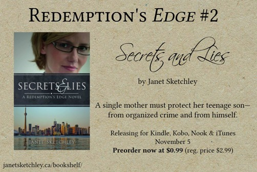 Secrets and Lies ebook preorder sale price 99 cents until Nov. 5, 2014