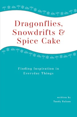 Dragonflies, Snowdrifts & Spice Cake: Finding Inspiration in Everyday Things, by Tandy Balson
