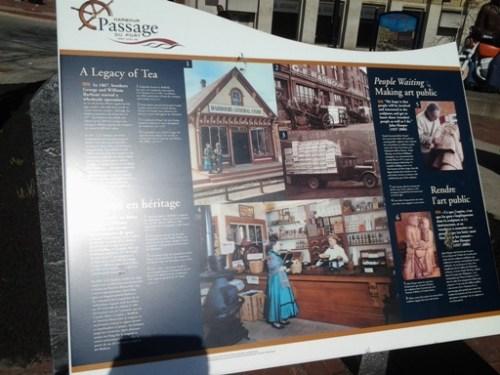 Harbour Passage's tourist information: A Legacy of Tea