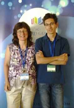Janet Sketchley and Matthew Sketchley at Write Canada 2015