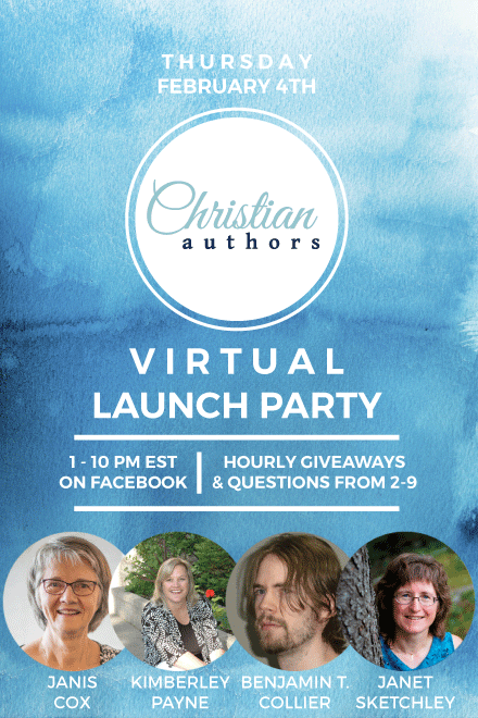 Christian Authors website launch party