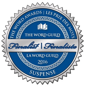 Finalist (suspense) sticker for The Word Awards