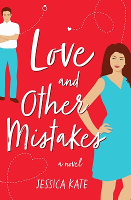 Book cover: Love and Other Mistakes, by Jessica Kate