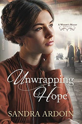 Book cover: Unwrapping Hope, A  Widow's Might Novella, by Sandra Ardoin