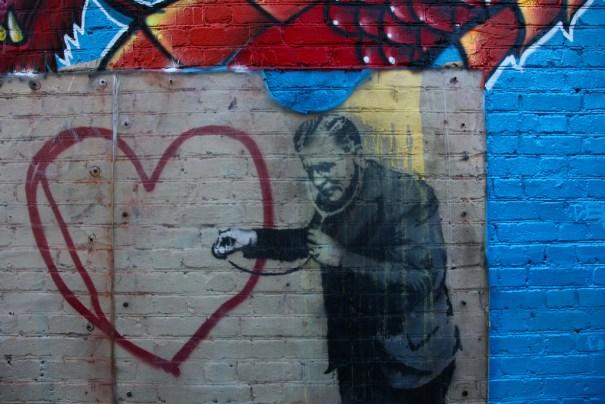 I Heart Banksy by Janet Towbin