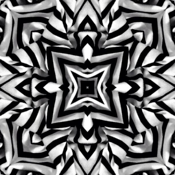 Stripe Mandala 2 by Janet Towbin
