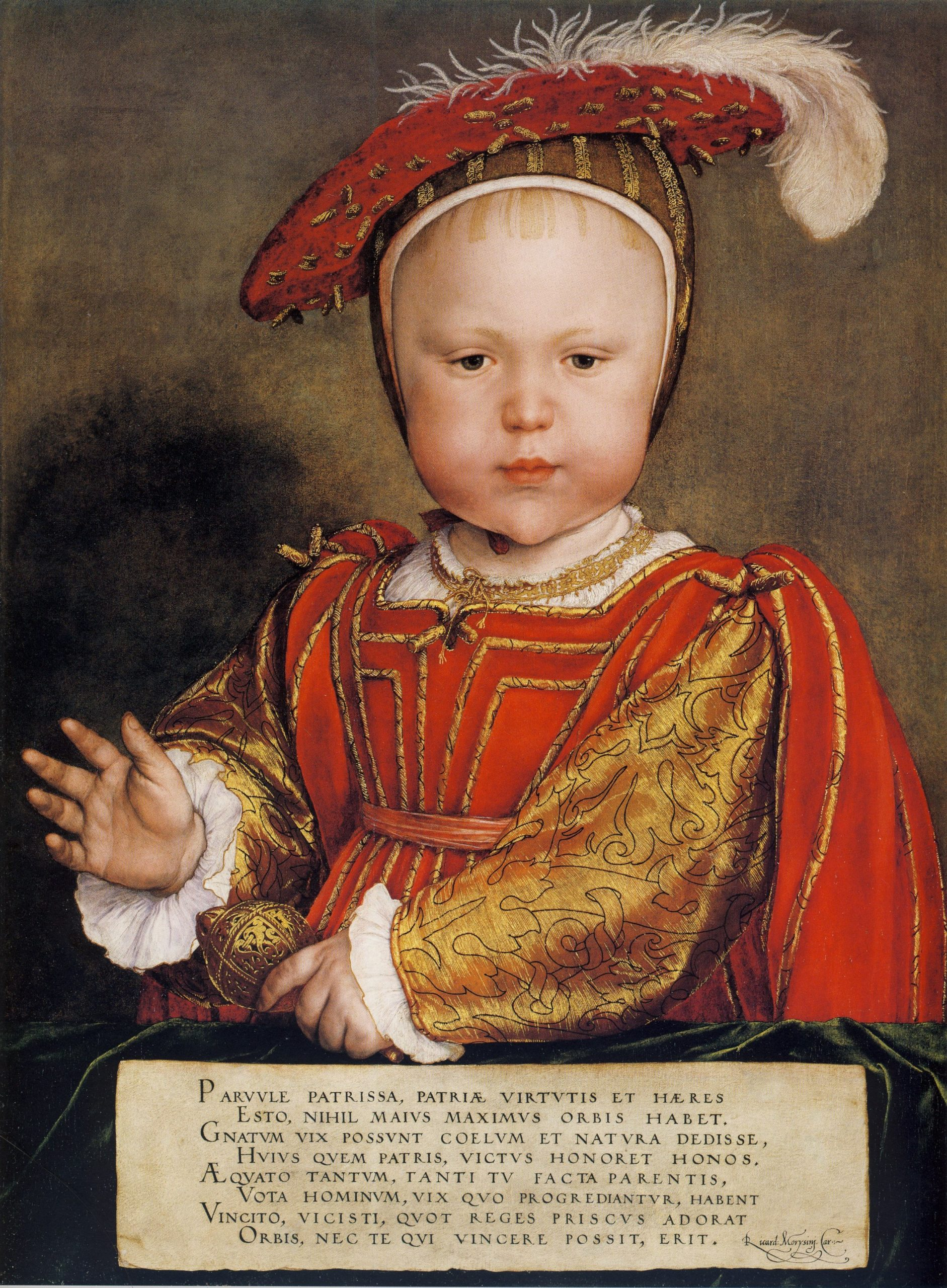October 15, 1537 – Christening of Edward VI