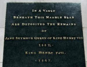 Jane Seymour's Tombstone