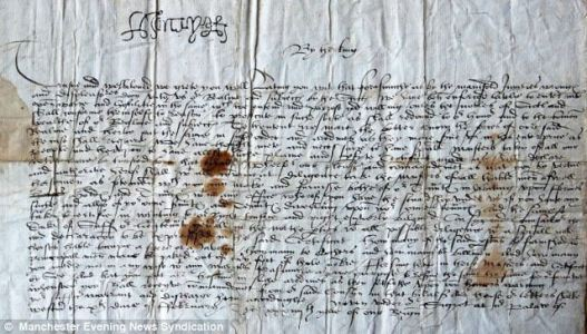 Letter From Jane Seymour Announcing the Birth of Her Son