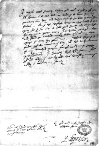 August 29, 1588 - Robert Dudley, Earl of Leicester, writes his last letter to Elizabeth I. Read it on www.janetwertman.com