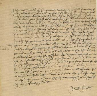 Letter from Sir William Kingston to Cromwell re George Boleyn