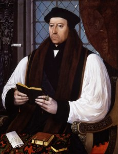 """On June 15, 1540, Thomas Cranmer wrote a heartfelt letter in support of his friend, Thomas Cromwell. """"Who shall Your Grace trust hereafter if you may not trust him?"""" Read it on www.janetwertman.com"""