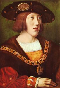 A Young Charles V, by Bernard van Orley (public domain via Wikimedia Commons)