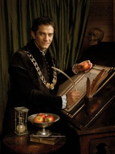 Thomas Cromwell, as played by James Frain in Showtime's The Tudors