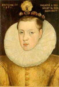James VI in 1586, attributed to Adrian Vanson (public domain via Wikimedia Commons)