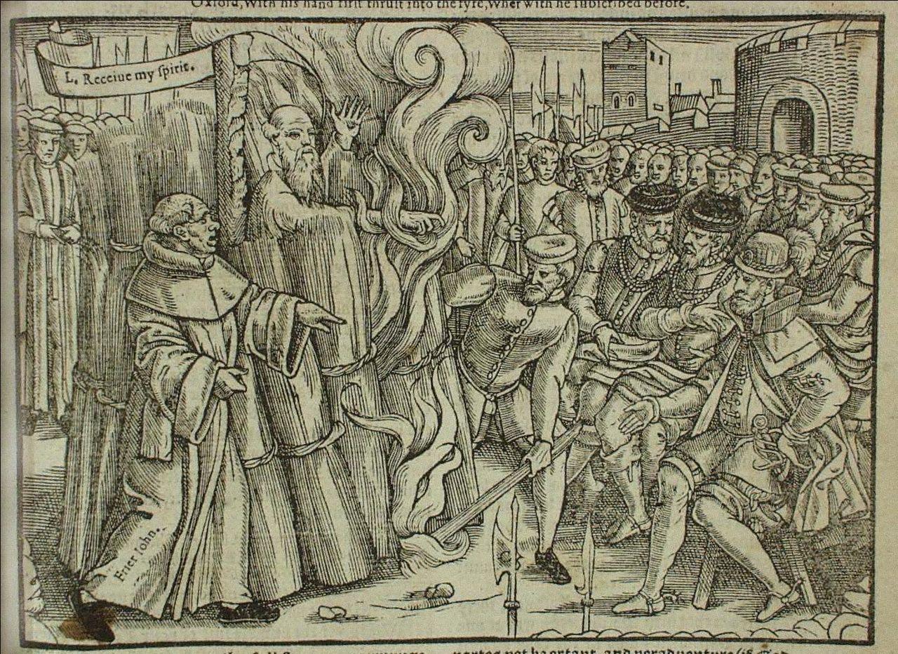 March 21, 1556 – Execution of Thomas Cranmer