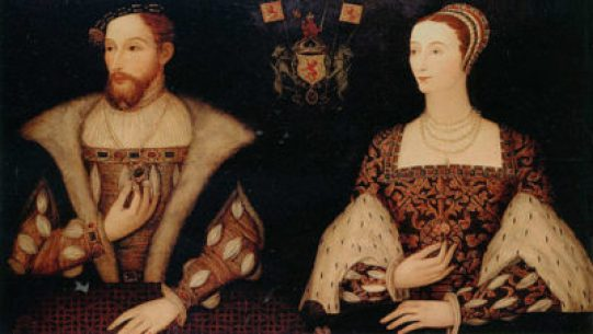 Marie de Guise and James V