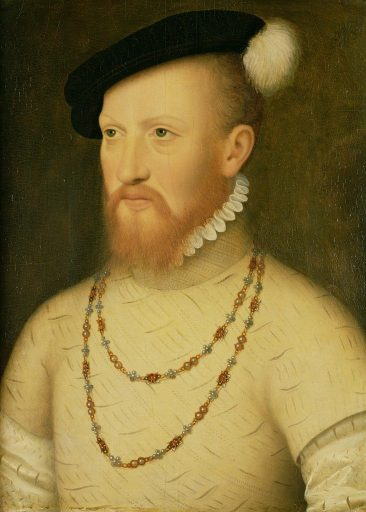 The portrait of Edward Seymour said to be by Holbein (but not)