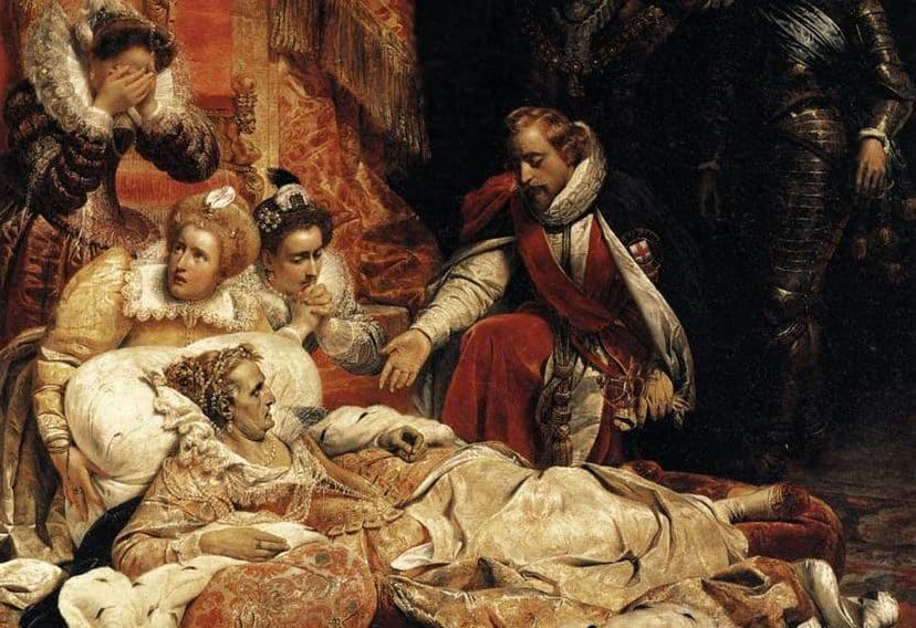 March 24, 1603 –Death of Elizabeth I